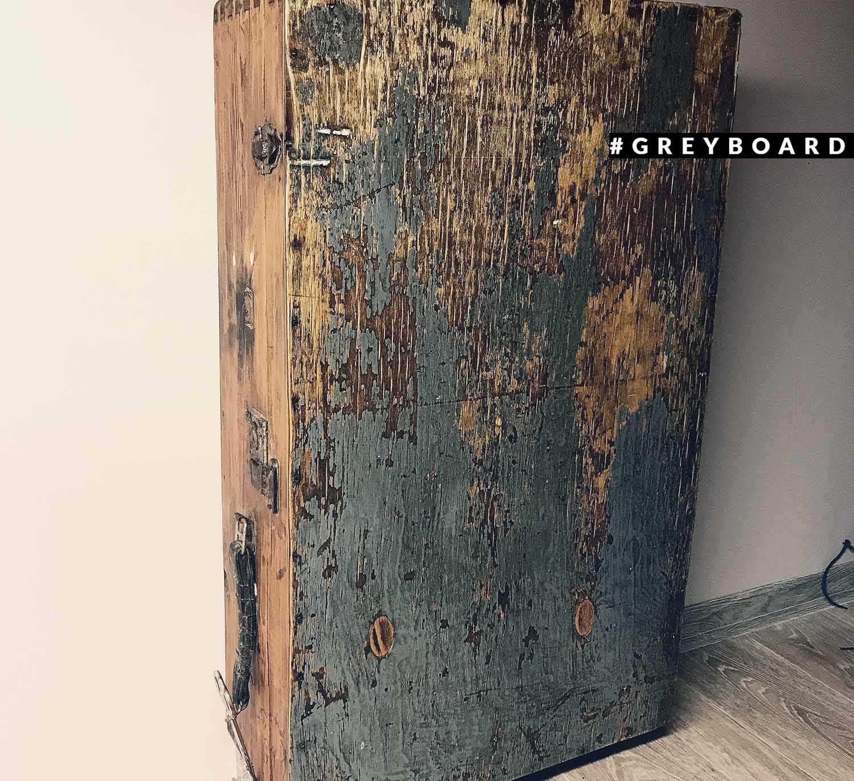 Буфет из старого фанерного чемодана