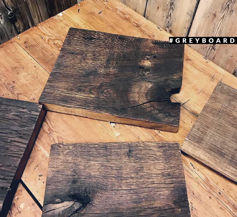 Доски для подачи из амбарной дубовой доски