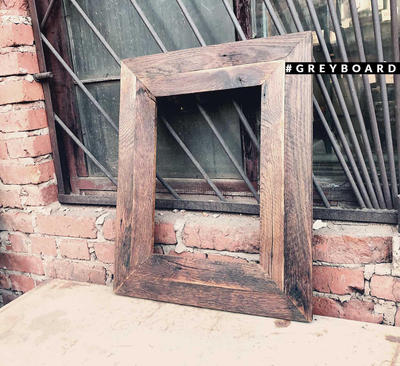 Рамка из старой доски