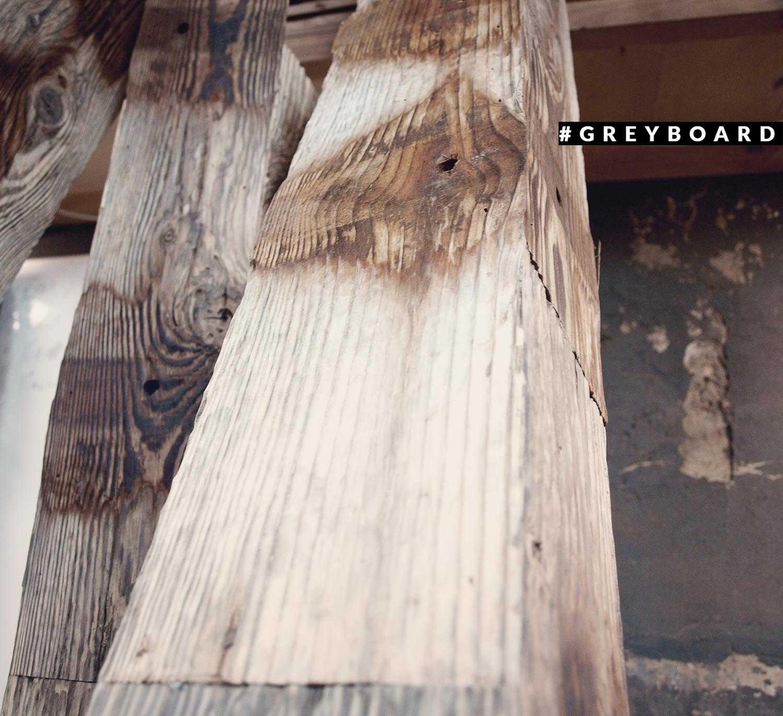 Фальшбалка из долговечной лиственницы