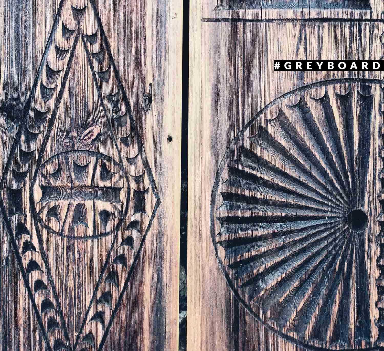 Лобовая доска с орнаментом