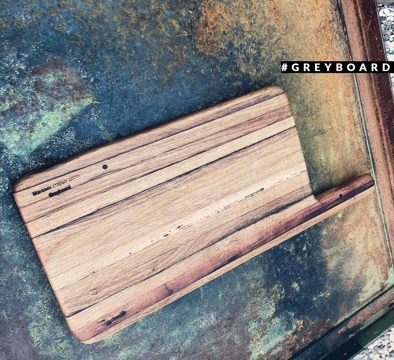 Разделочная доска из старой деревянной доски