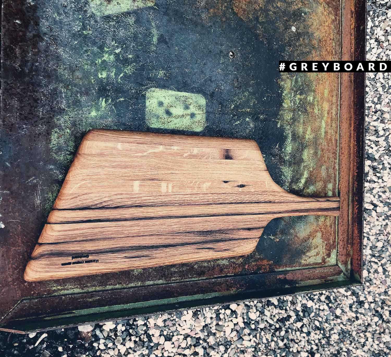 Стильная разделочная доска из старой доски