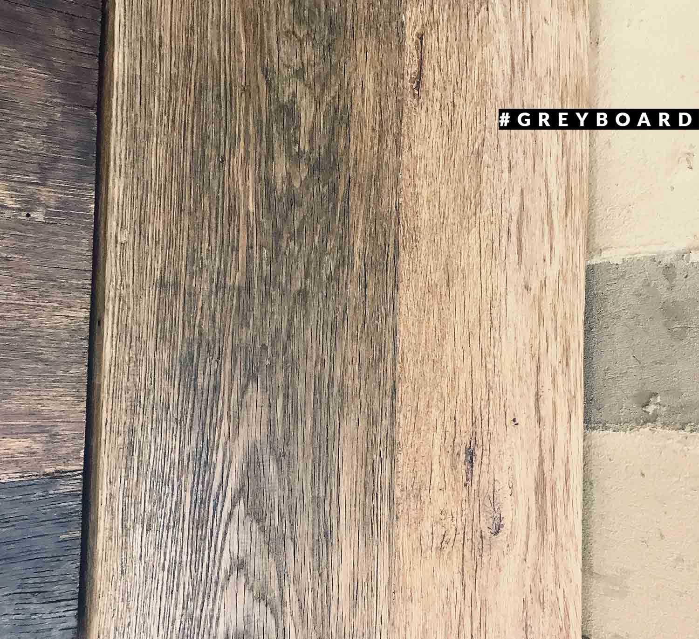 Столешница из двух старых дубовых досок