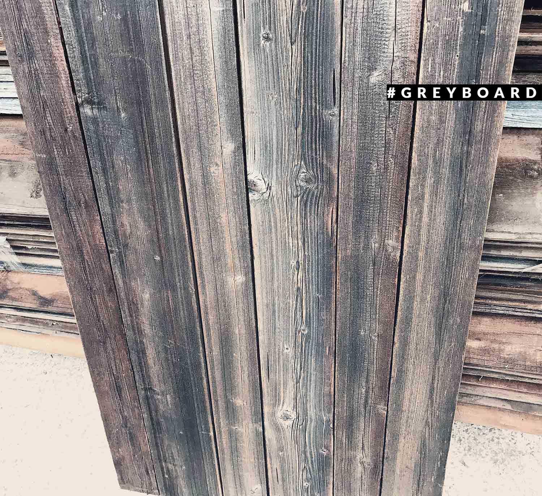 Серый фотофон из амбарной доски