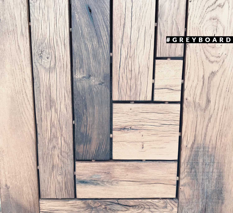 Столешница-ставни из амбарной доски