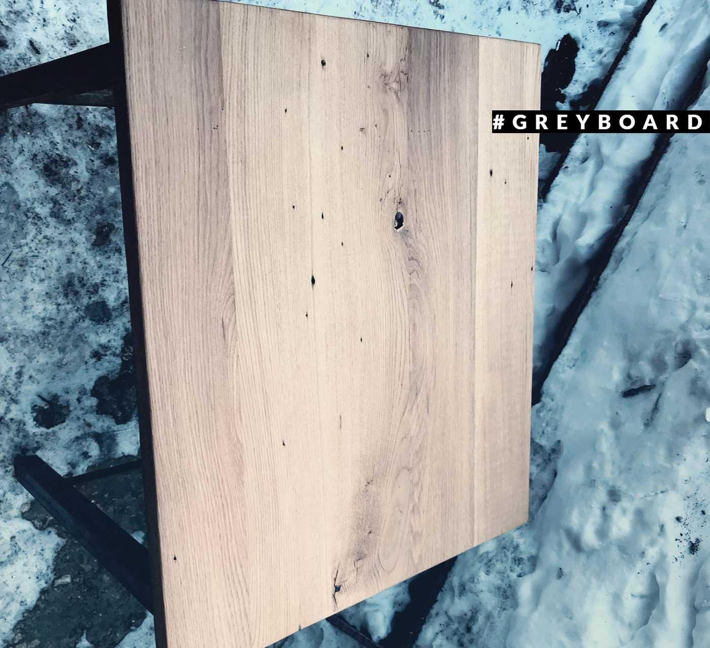 Столешница из старой 70-летней дубовой доски