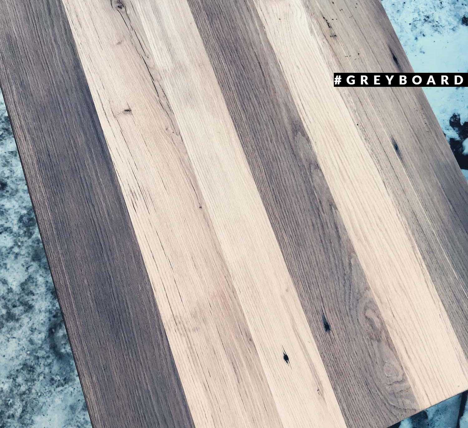 Столешница из амбарной доски в стиле лофт