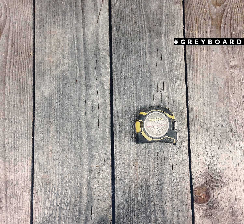 Двусторонний фотофон из амбарной доски