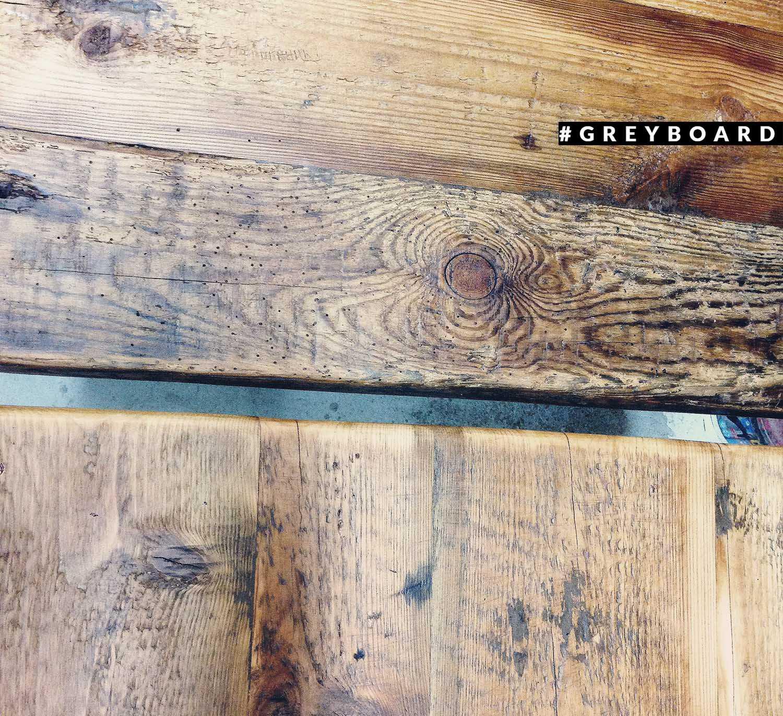 Столешница из амбарной хвойной доски