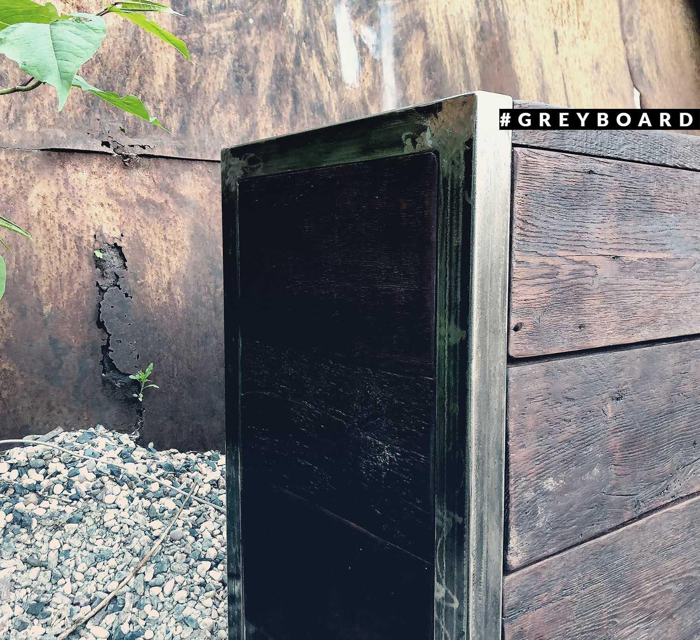 Тумба из старой дубовой доски