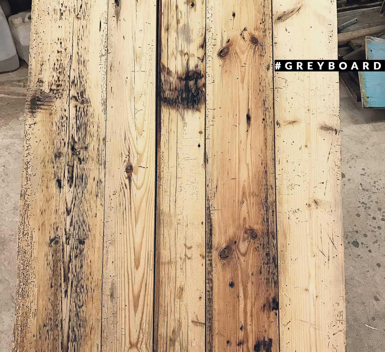 Фактурный фотофон из амбарной сосны