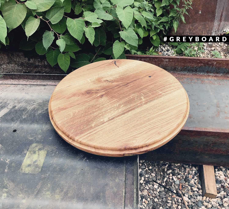 Столешница из старой дубовой доски середины XX века