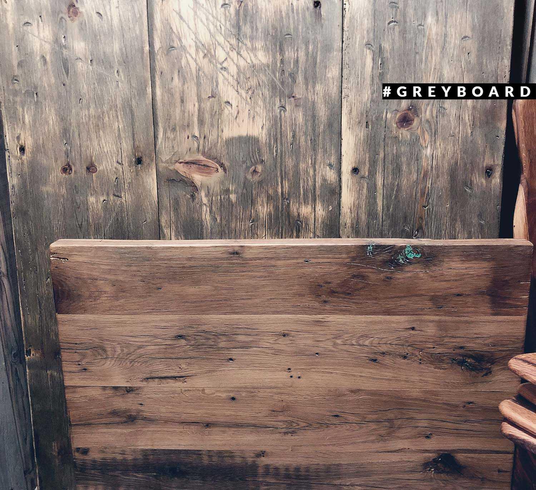 Деревянный фотофон из амбарной доски