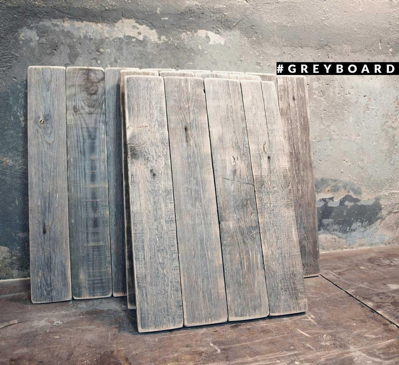 Серый фактурный фотофон из амбарной доски