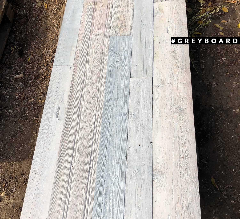 Панно из 80-летней амбарной доски