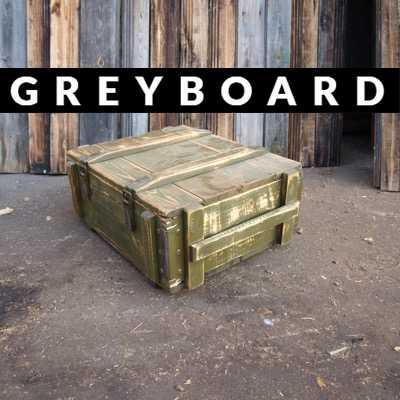 Старый военный ящик