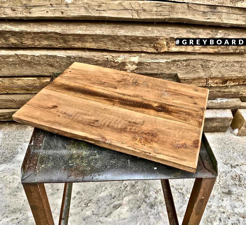 Столешница из старой доски для обеденного стола