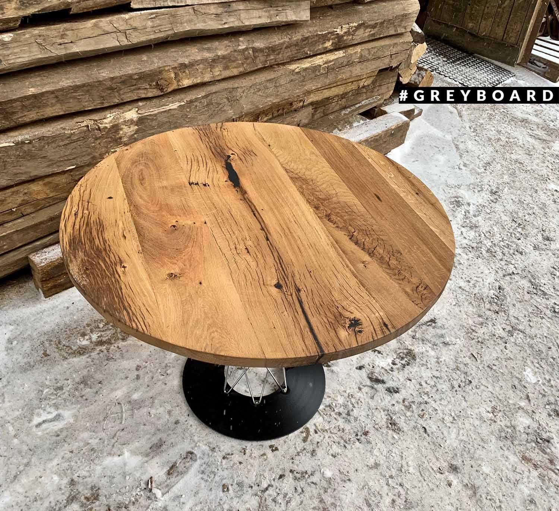 Стильный лофтовый стол из амбарной доски