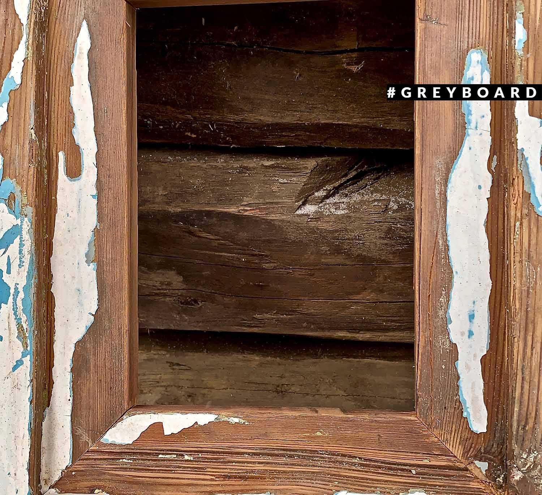 Стильные рамки из старой доски