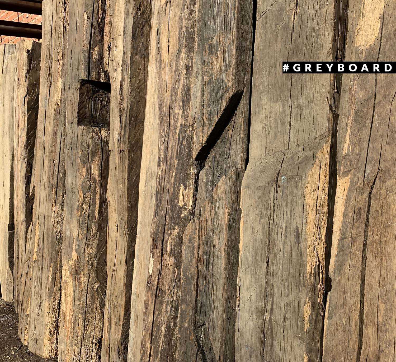 Старые дубовые балки