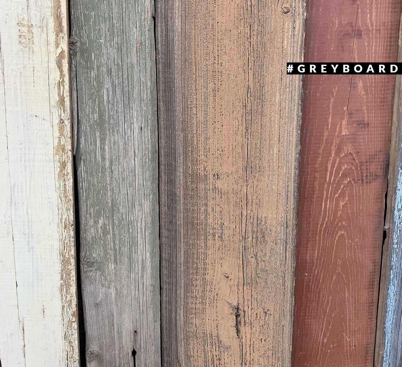 Доска со следами краски без покрытия