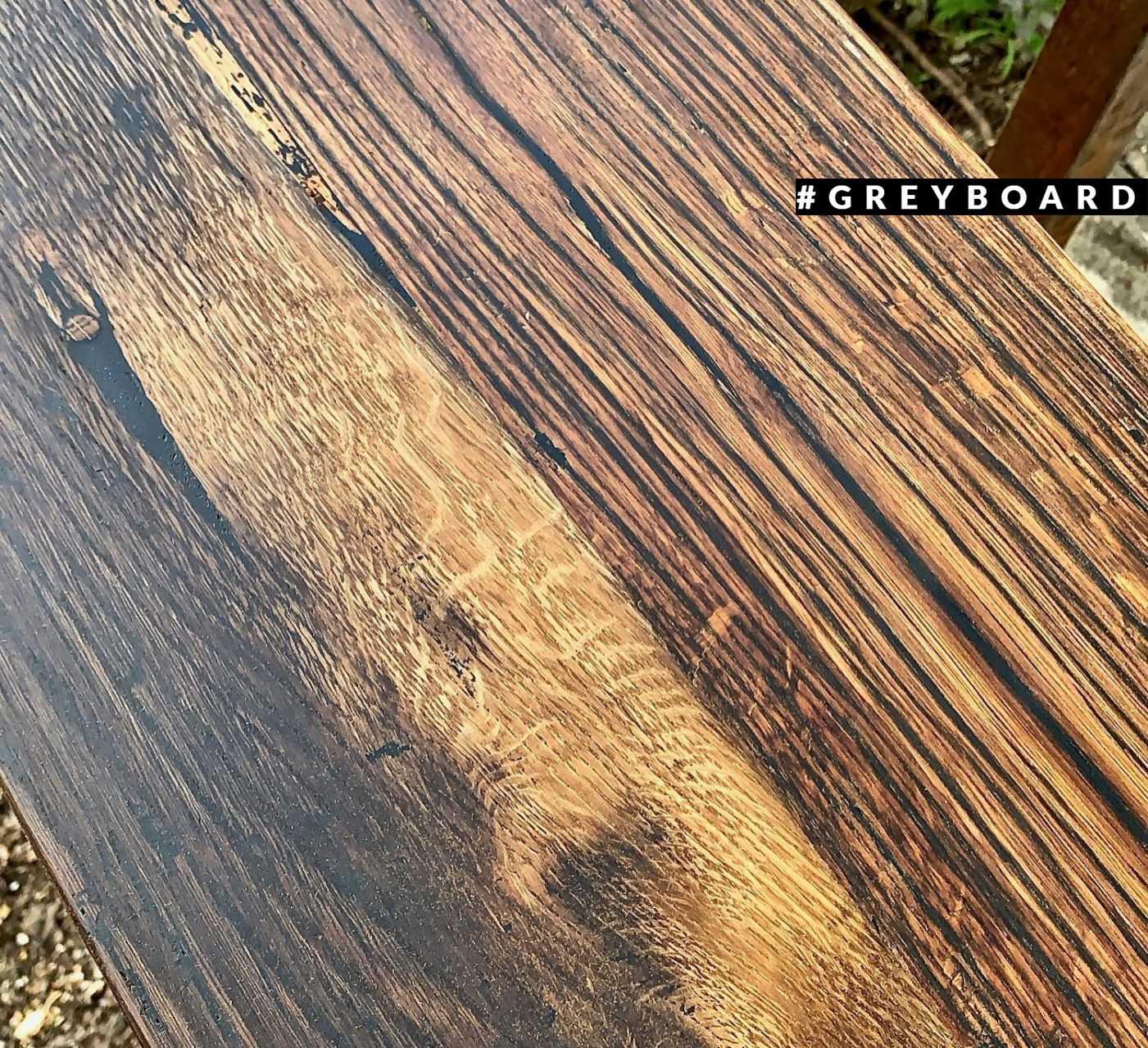 Лофтовая столешница из амбарного дуба