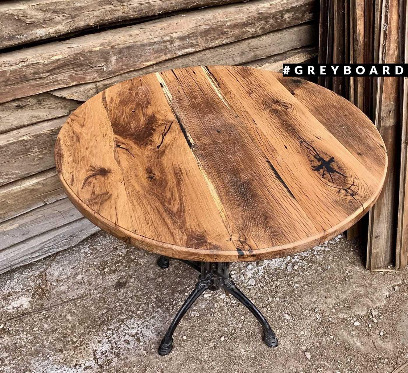 Элегантный стол из амбарного дуба