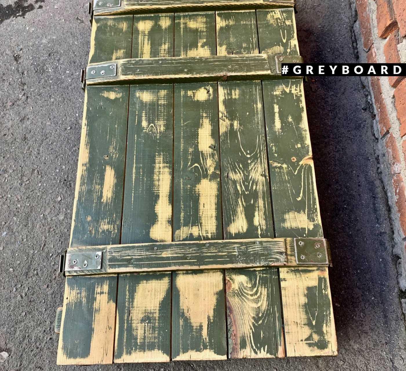 Ящик из настоящей хвойной доски