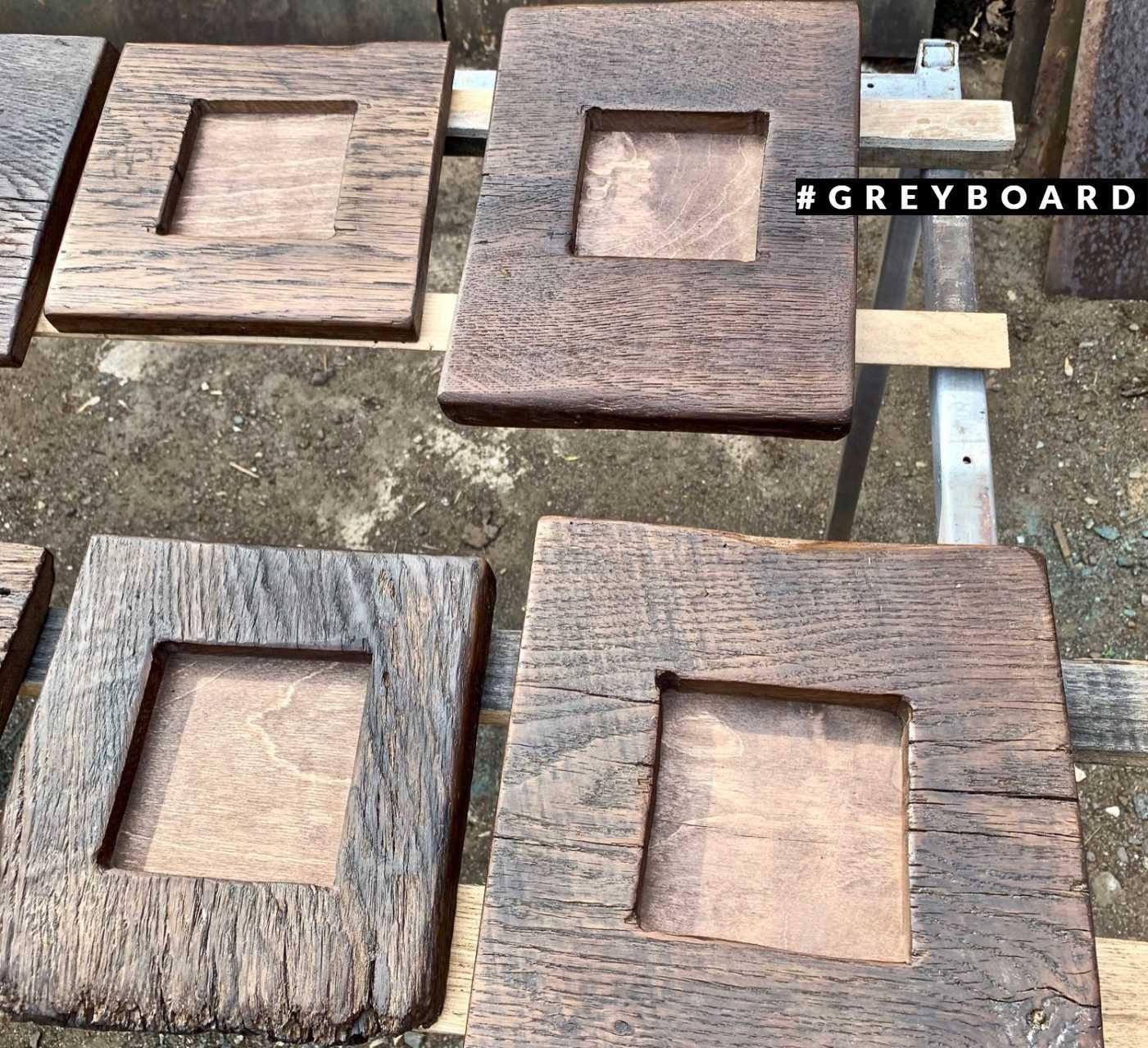 Оригинальные рамки из старого дуба