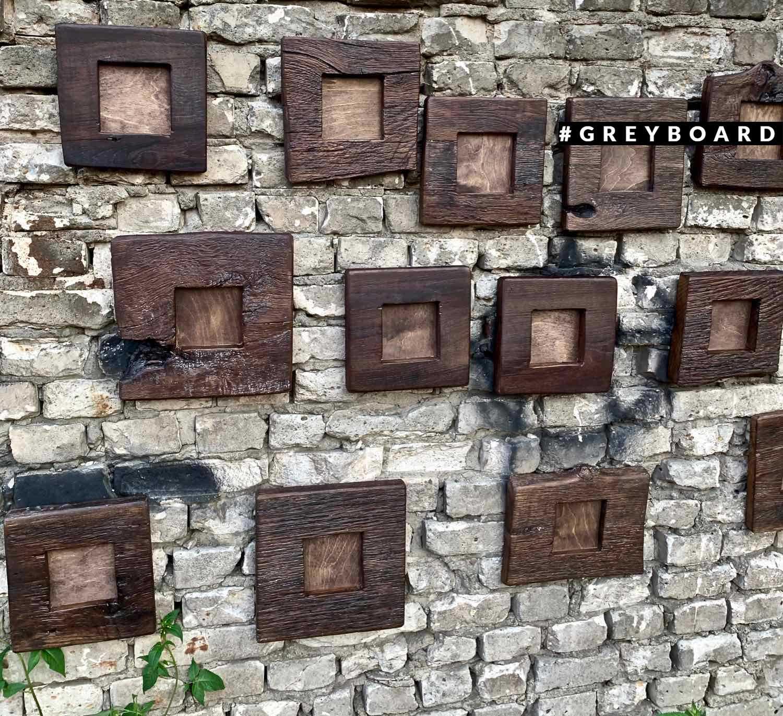 Небольшие рамки из старого дуба