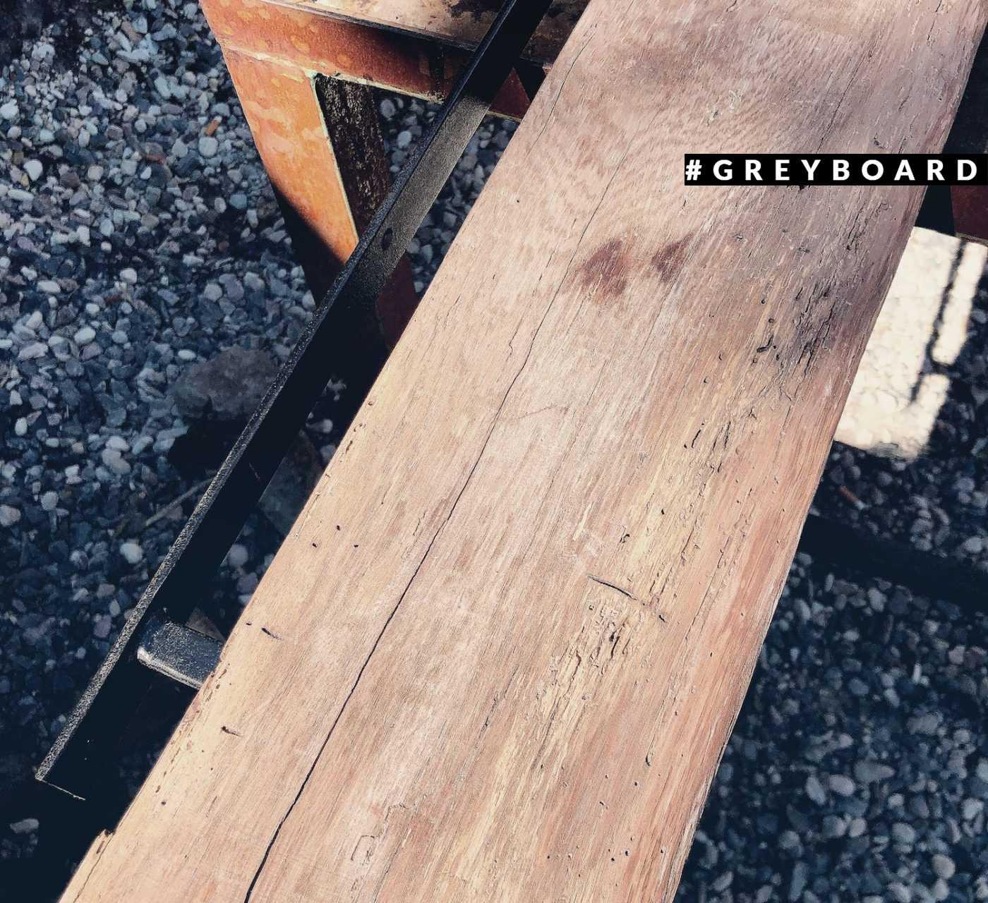 Полки из старинной дубовой доски