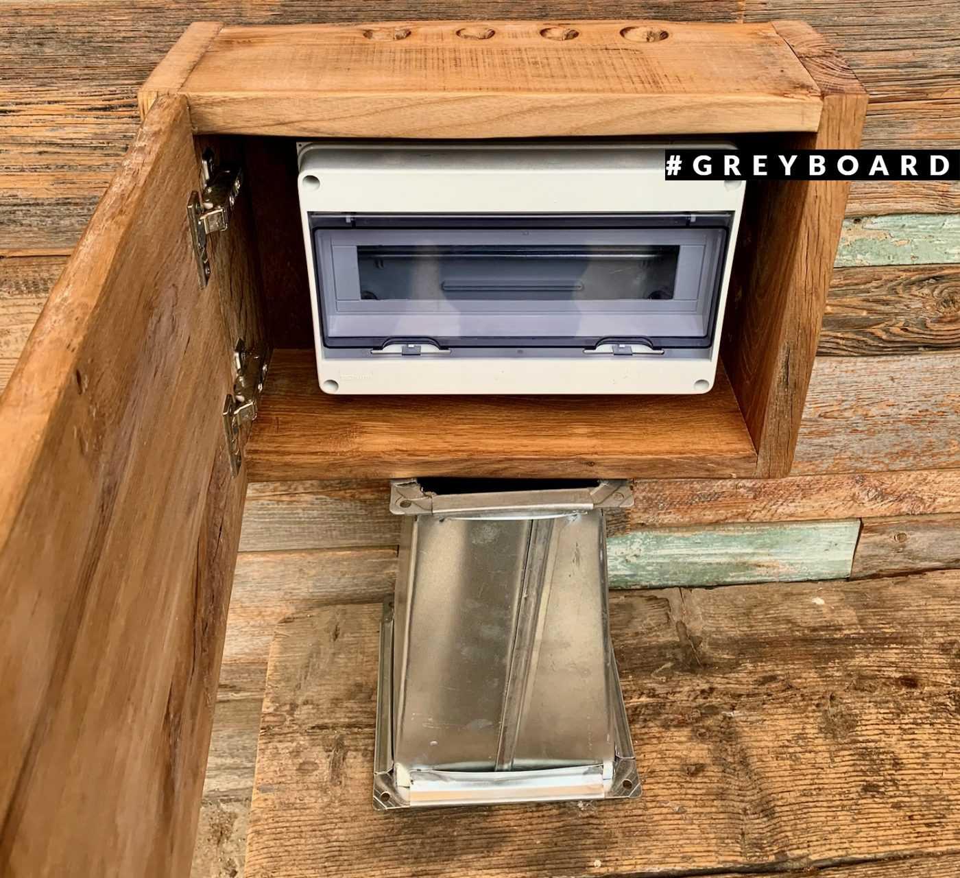 Автоматный ящик из старого дуба