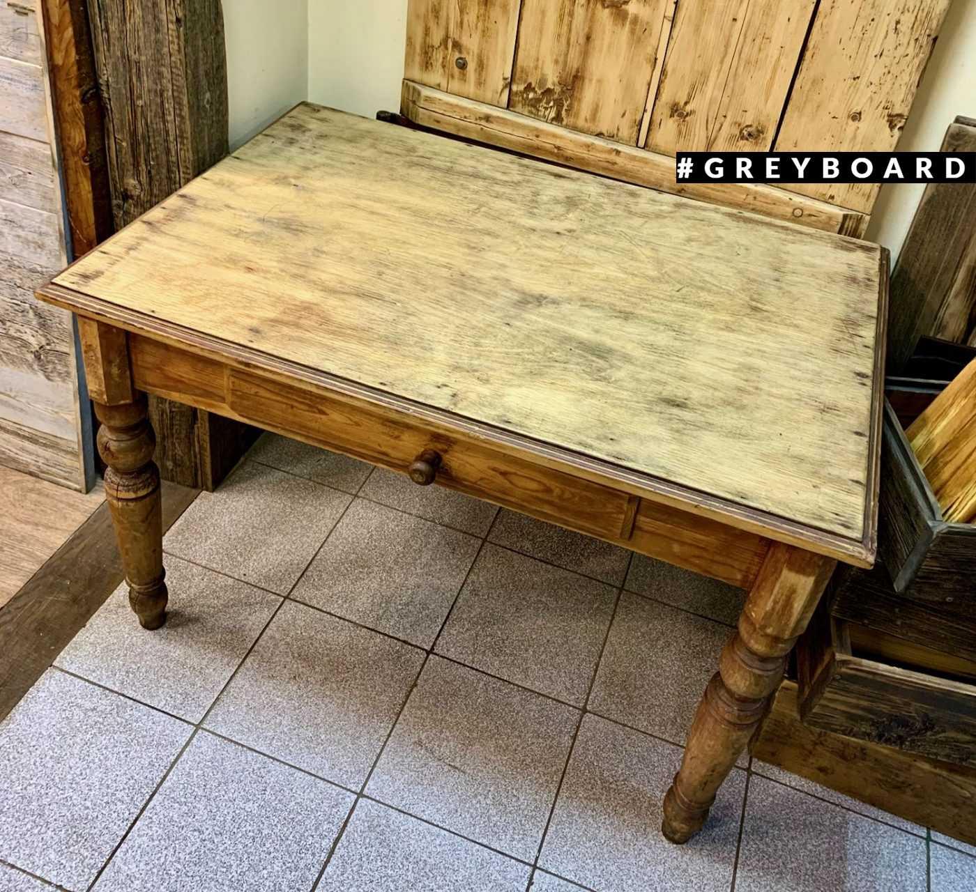 Старинный деревенский стол