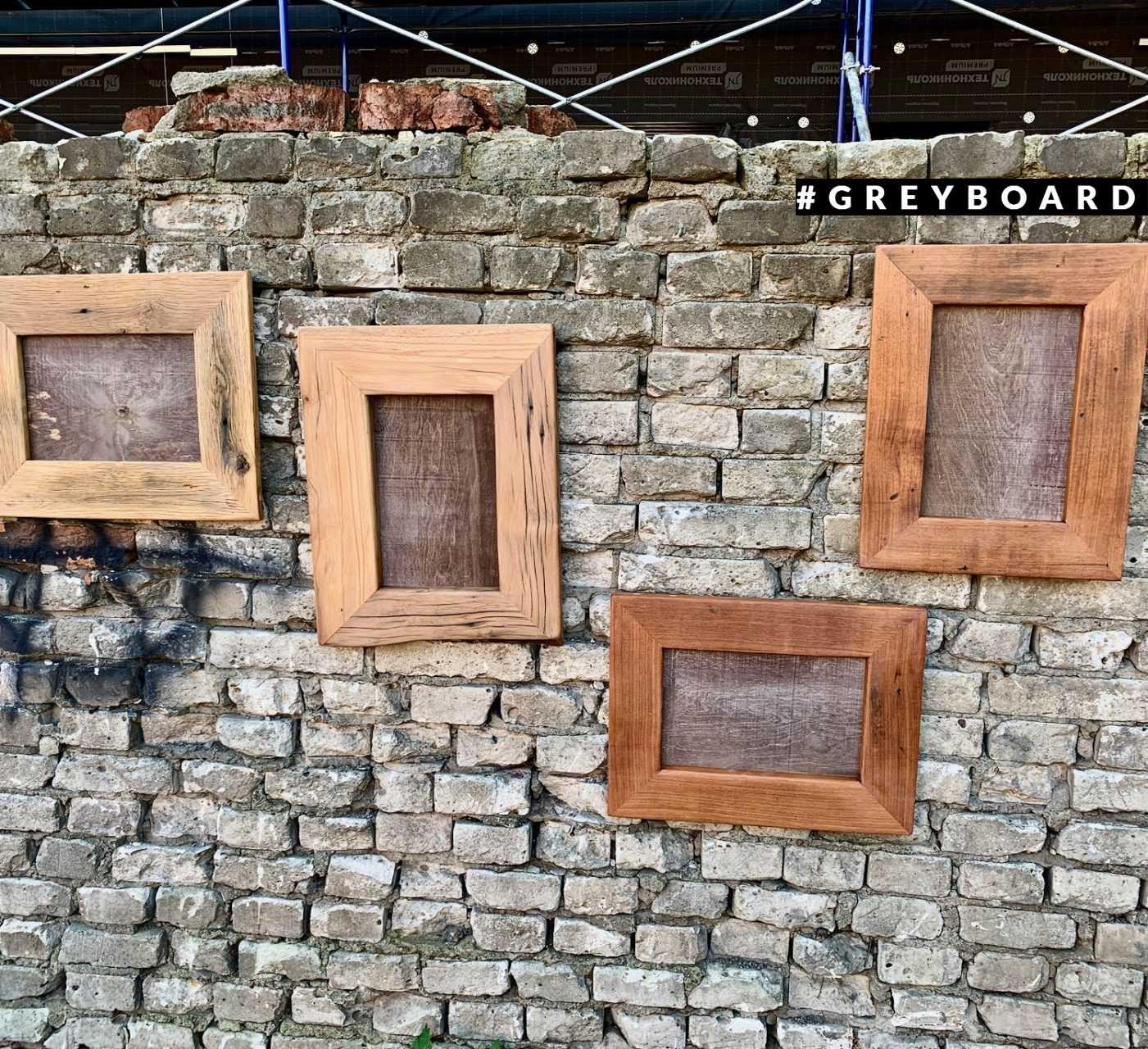 Красивые рамки из амбарной доски