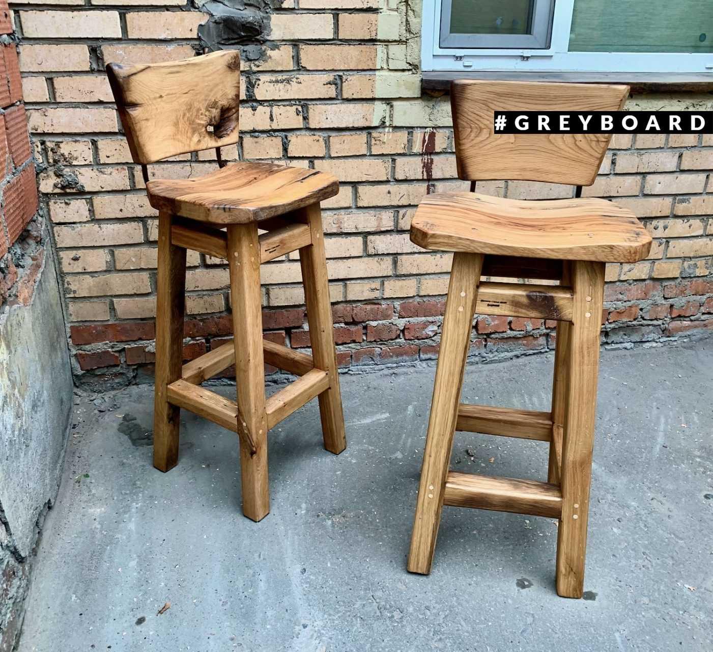 Высокие стулья в стиле лофт