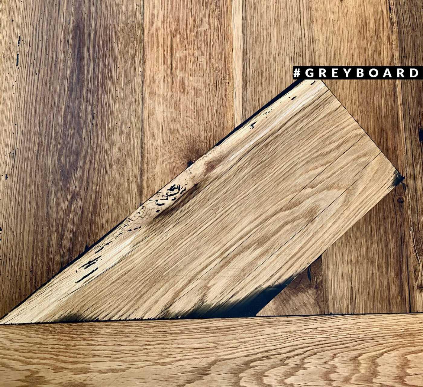 Столешница-подоконник из амбарного дуба