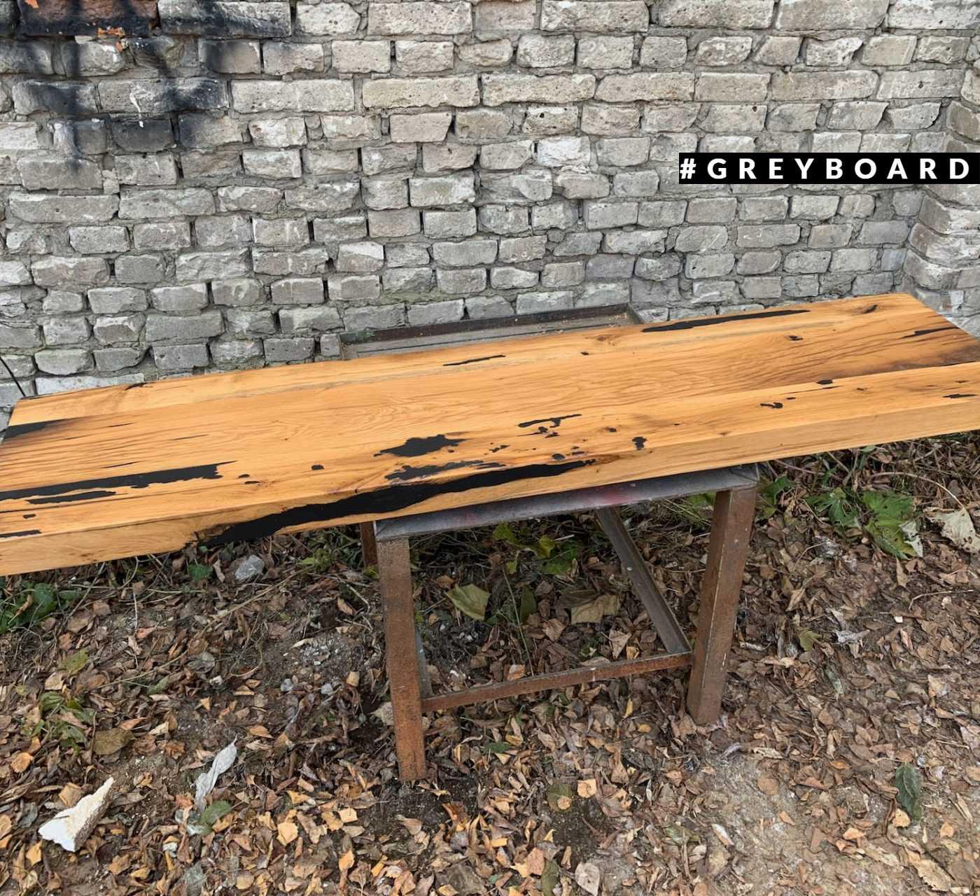 Столешница для бара из амбарной доски