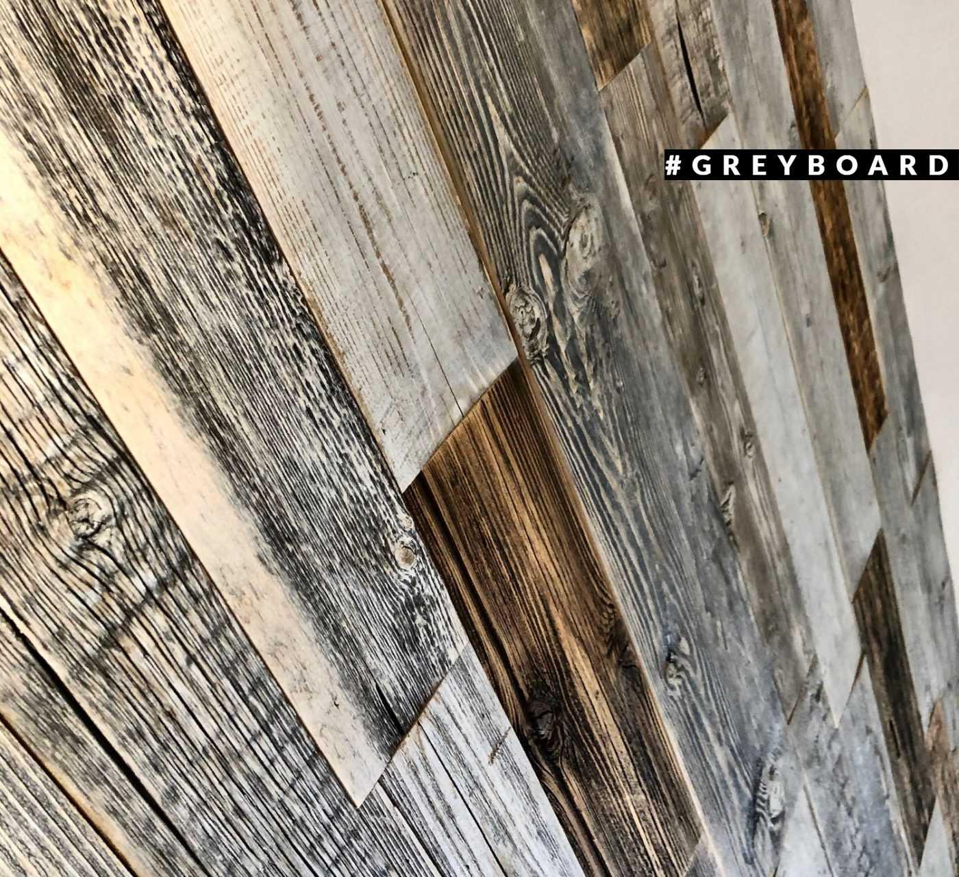 Панно из амбарной доски с богатой текстурой