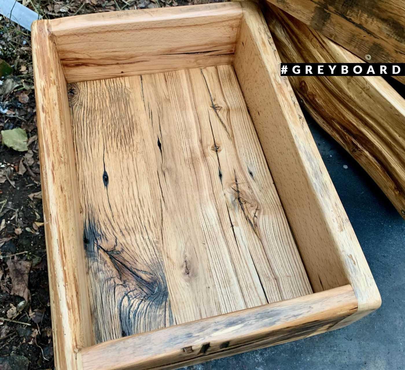 Дубовый ящик для хранения