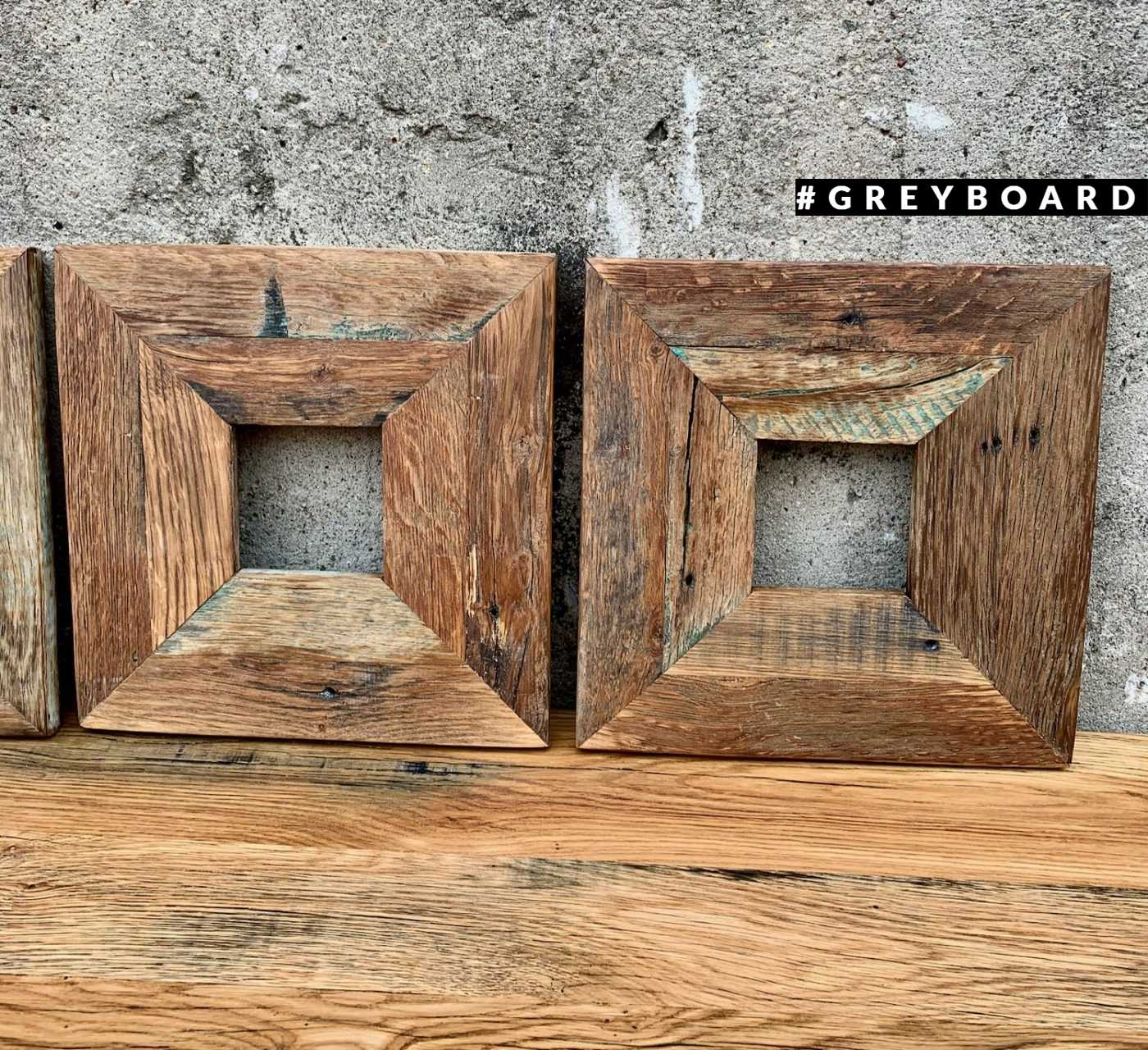 Серия рамок из амбарной доски