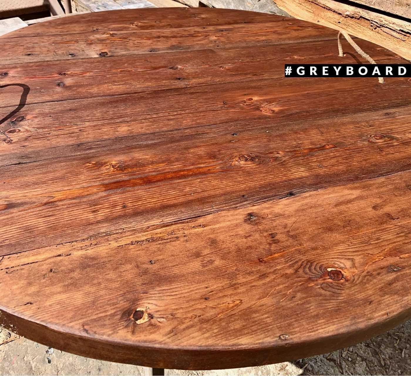 Столешница-крышка из старой сосны