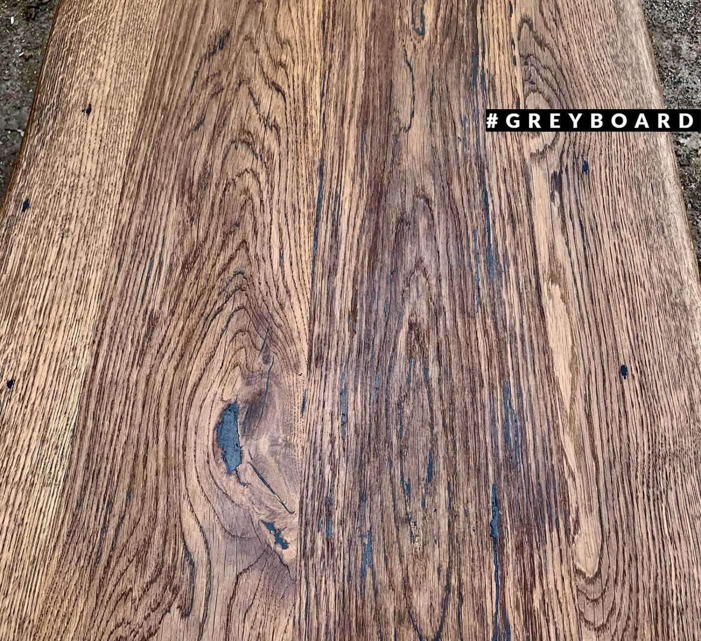 Роскошная столешница из старой дубовой доски