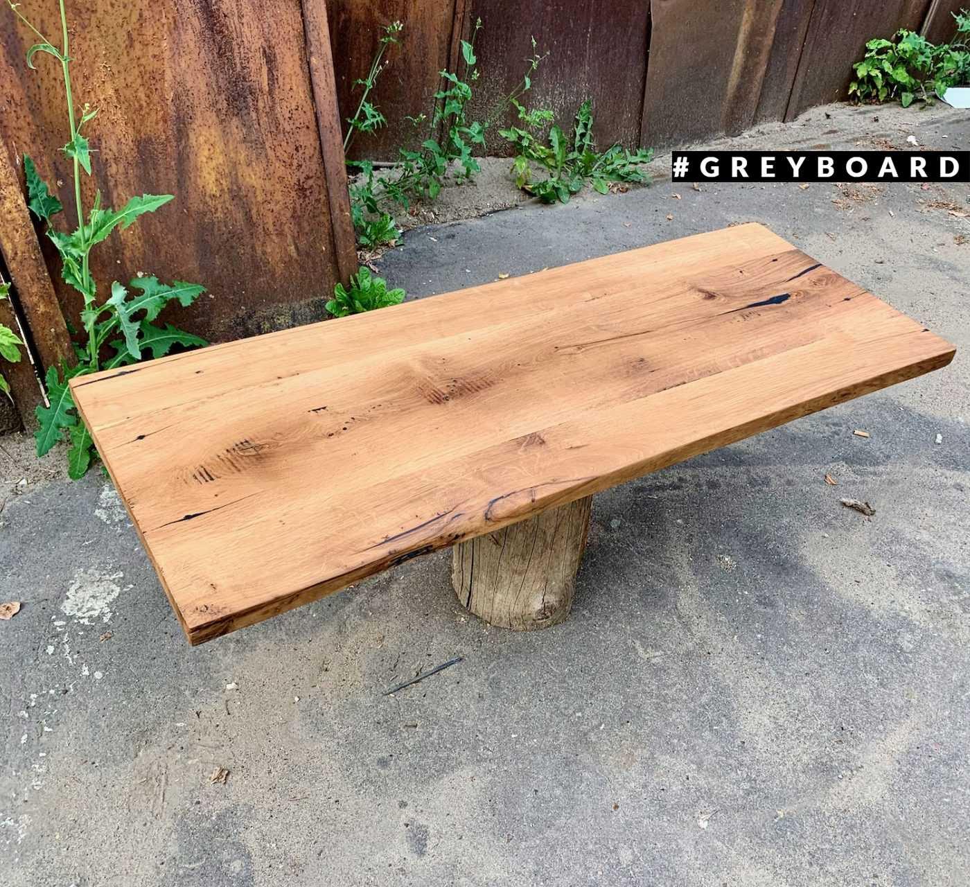 Деревянная столешница из старой доски