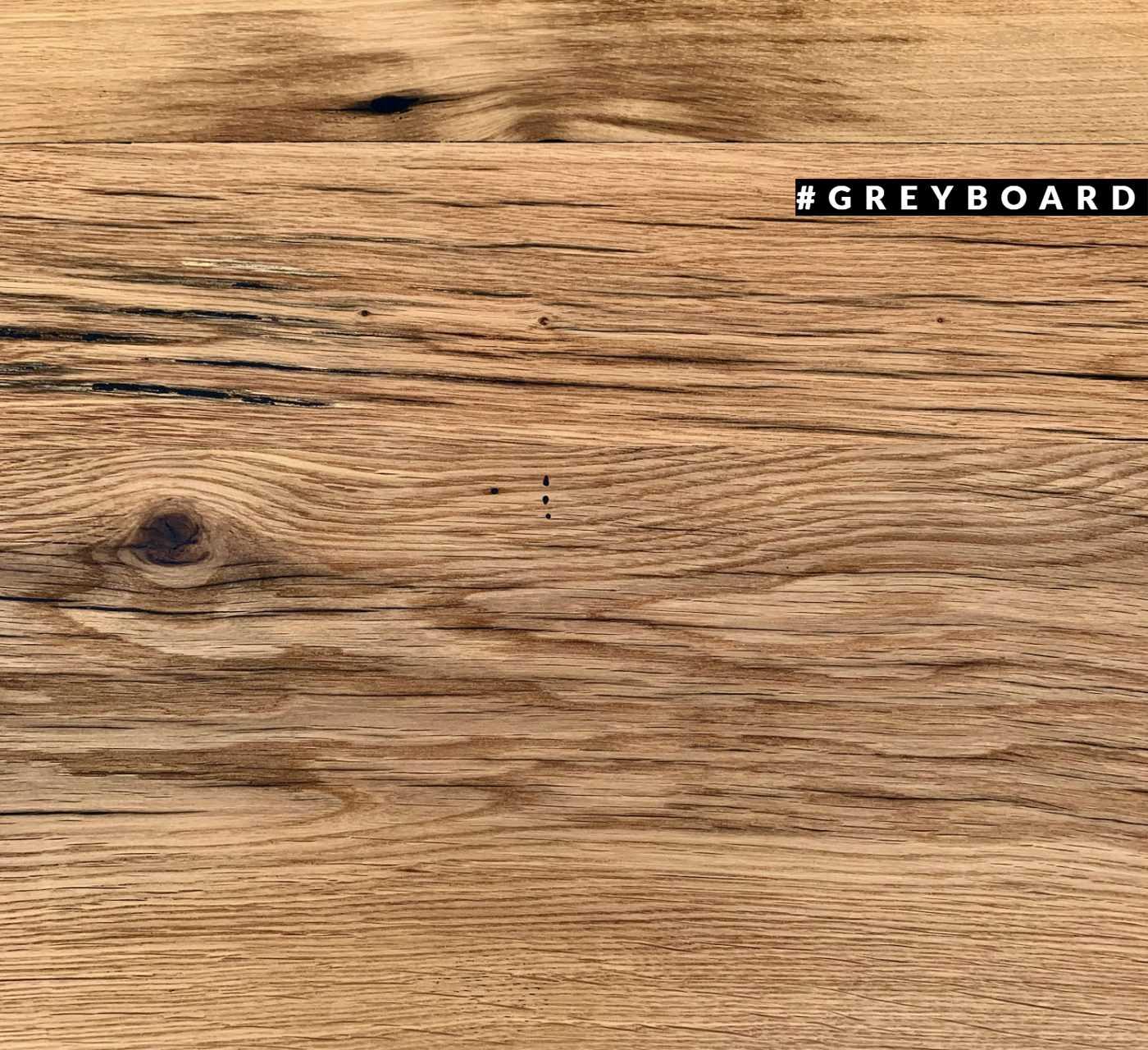 Уникальная столешница из старой дубовой доски