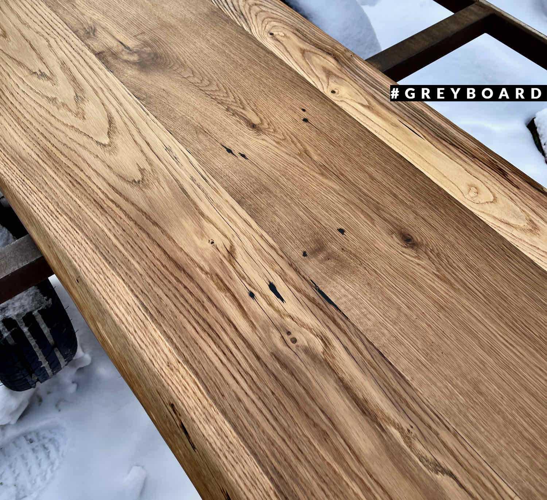 Столешница из амбарной доски в скандинавском стиле