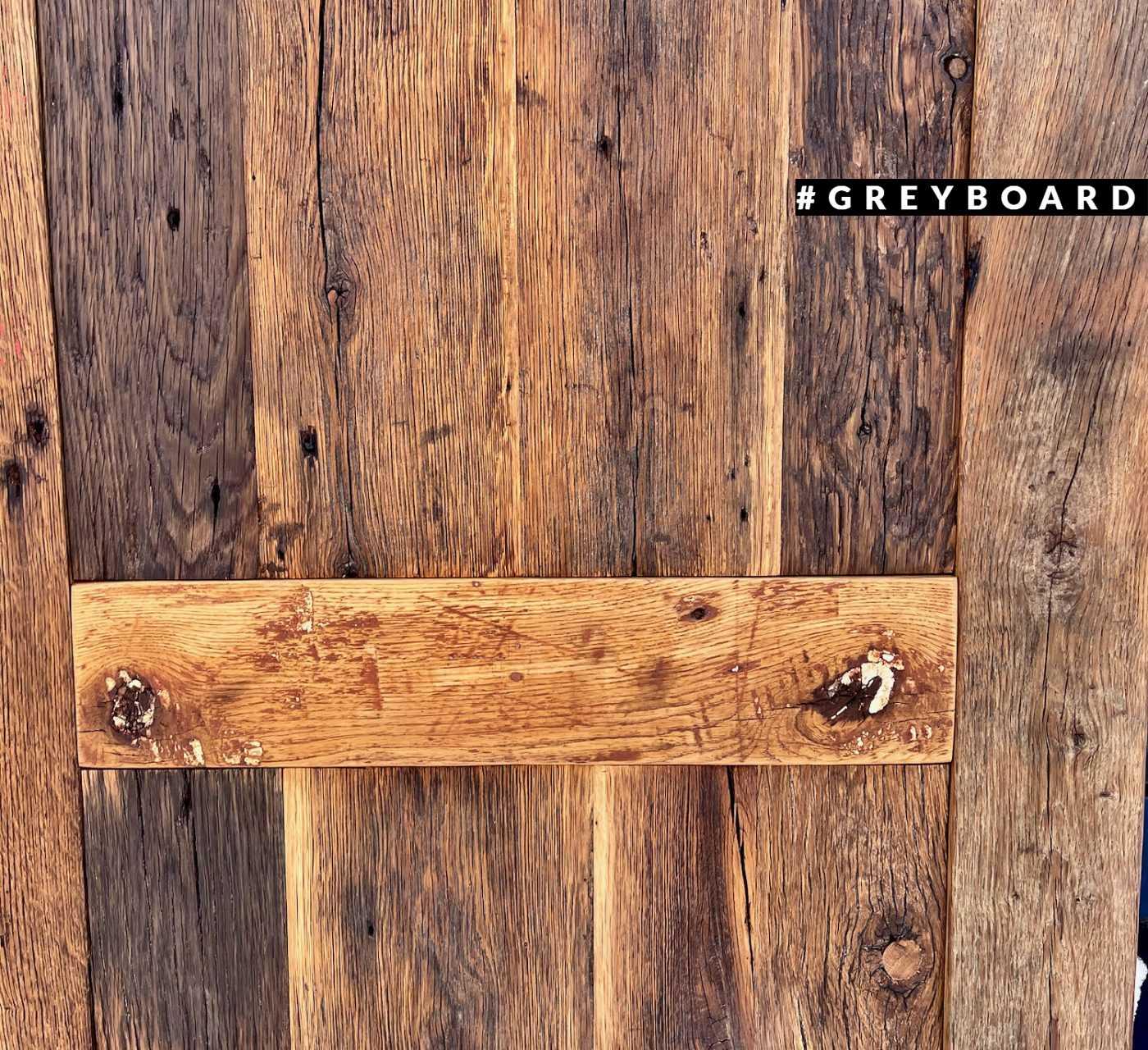 Лофтовая дверь из старой доски